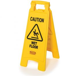 #19 Details about  /Wet Floor Caution Vertical Sign or Sticker